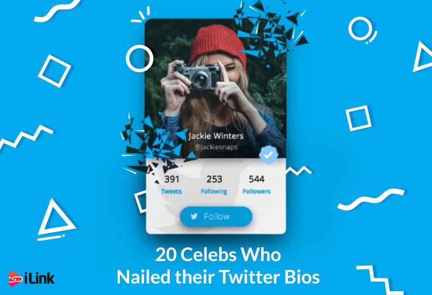 20 Celebs Who Nailed their Twitter Bios