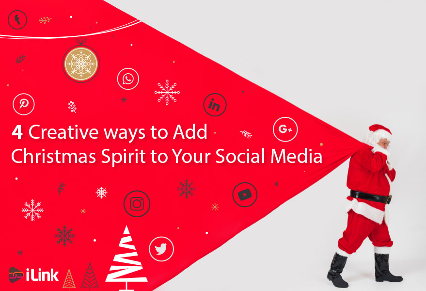 7 Creative ways to Add Christmas Spirit to Your Social Media