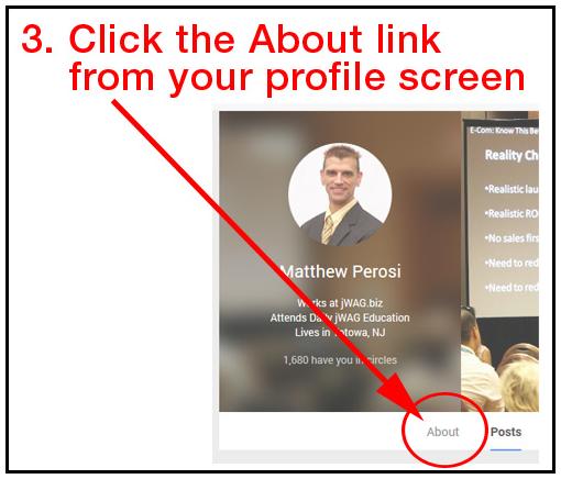 How to Write a Good Google Profile bio?