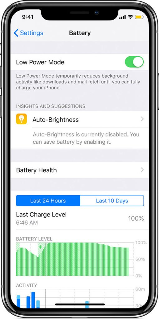 low power mode can cause app misbehaving