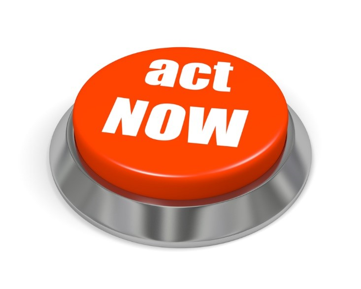 call to action button for a landing page