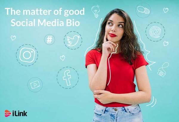The matter of good social media bio