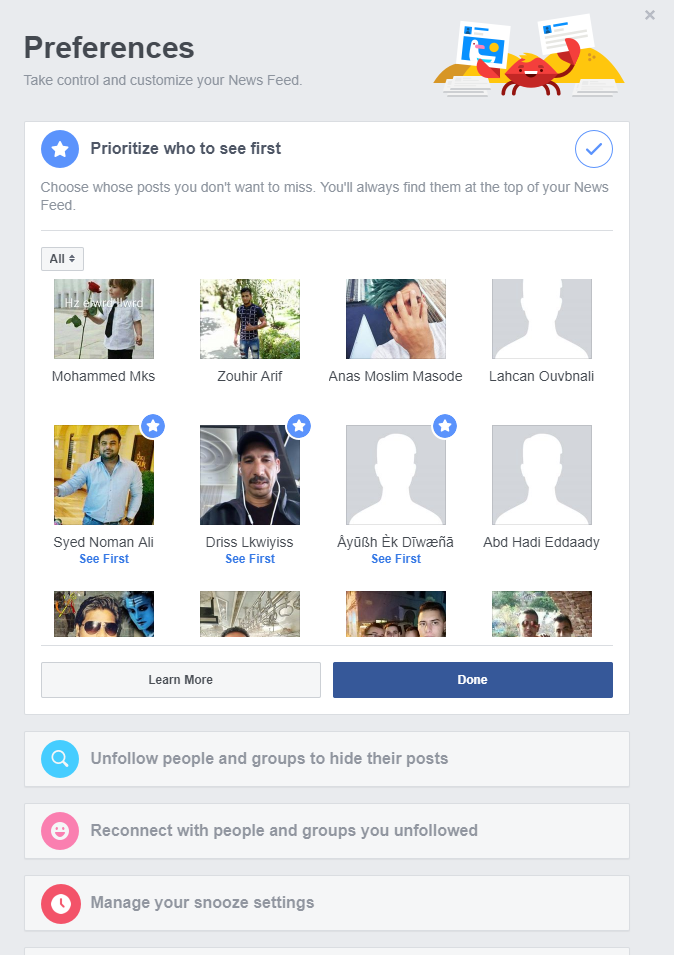 How to prioritize posts on Facebook newsfeed
