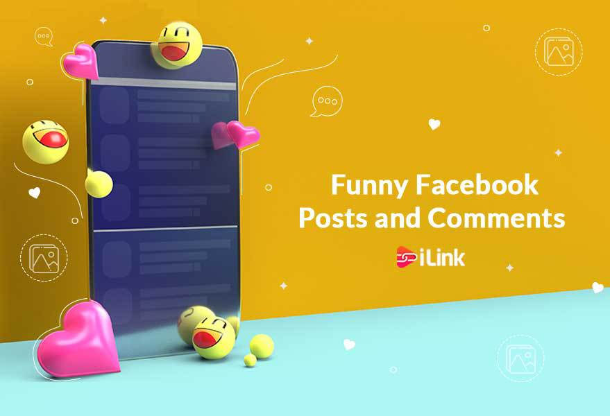 Funny Facebook posts and Comments