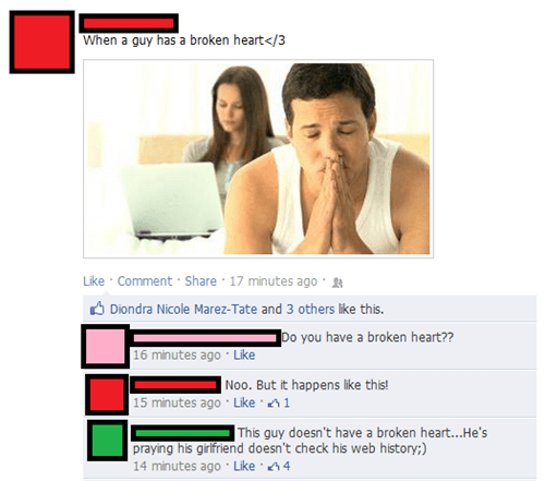 Funny Facebook posts 5