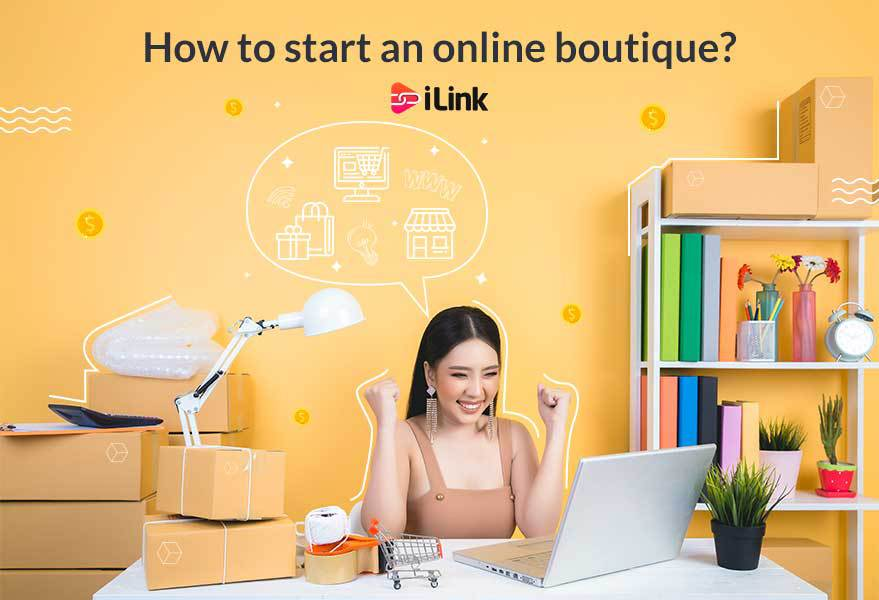 How to start an online boutique?