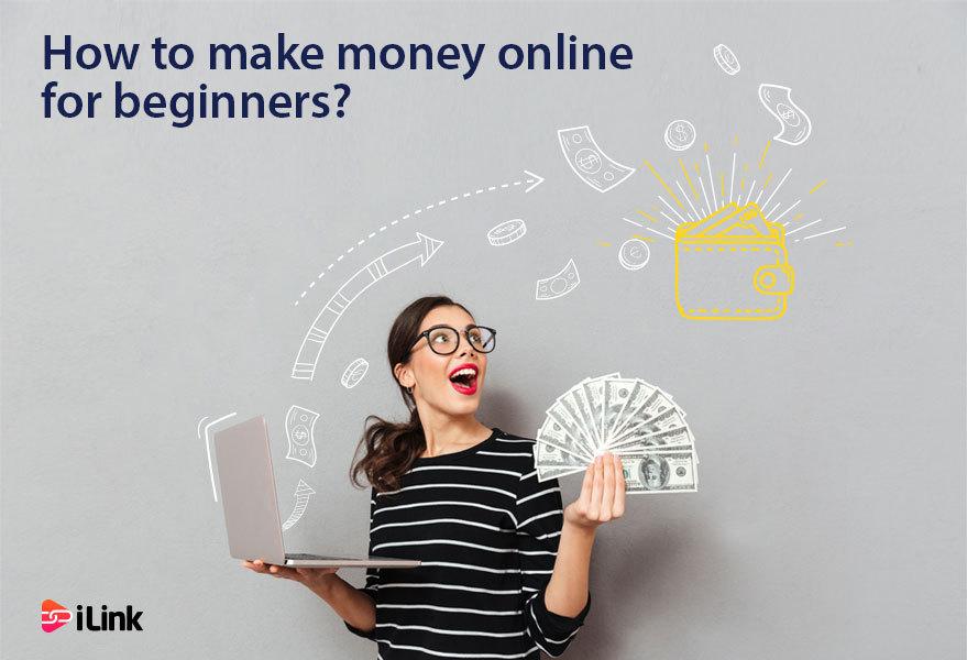 3 Steps to make money online for beginners