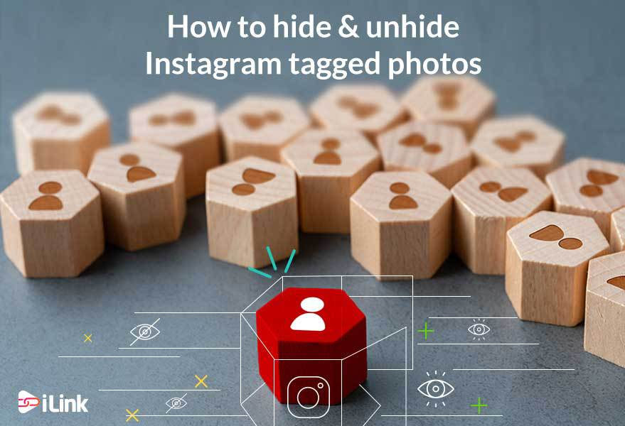 How to hide and unhide Instagram tagged photos?