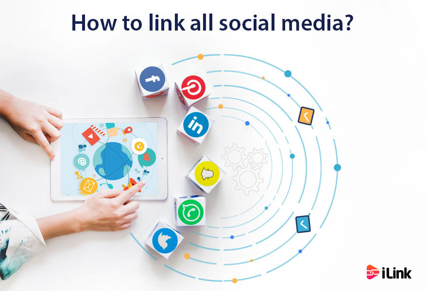 How to link all social media?